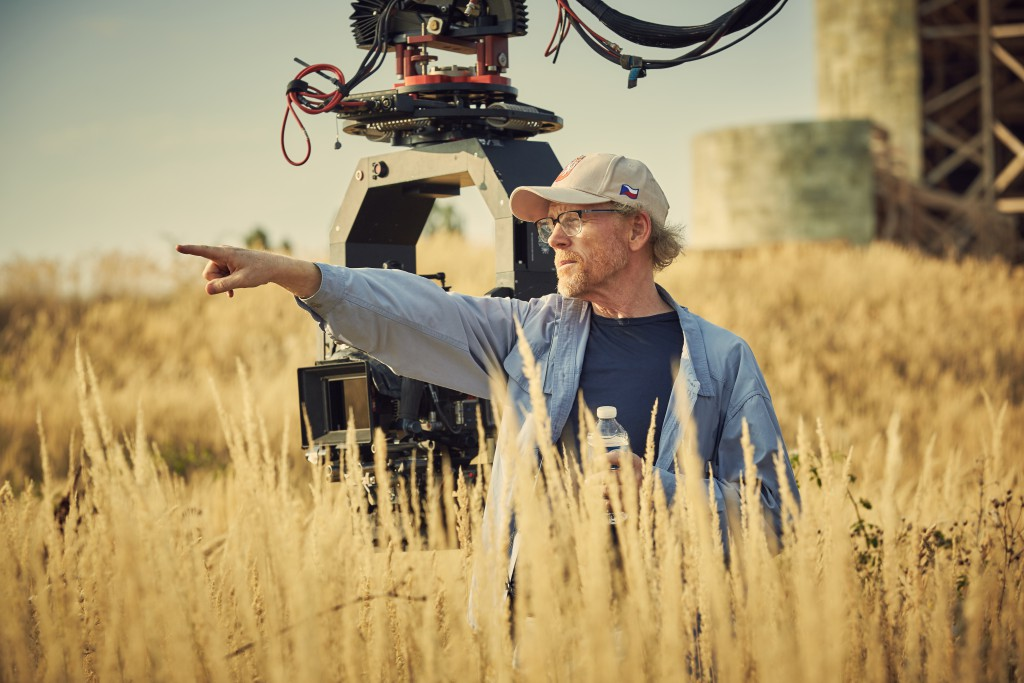 Czech Republic - Ron Howard directs on the set of National Geographic's Genius (National Geographic/Robert Viglasky)