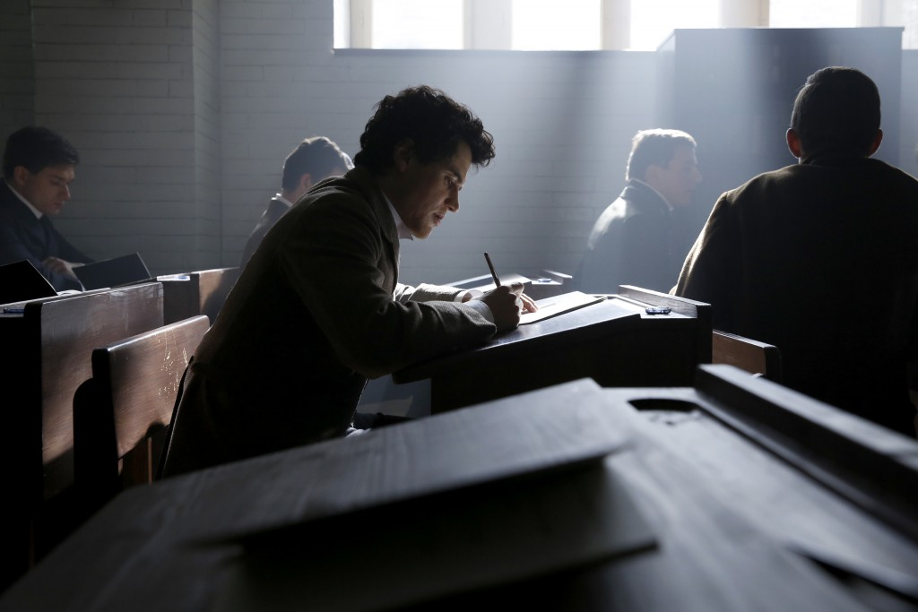 Czech Republic - Johnny Flynn stars as young Albert Einstein in National Geographic's Genius (National Geographic/Dusan Martincek)