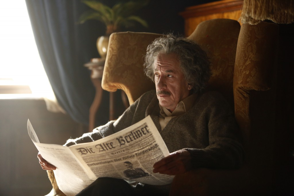 Czech Republic - Geoffrey Rush stars as Albert Einstein in National Geographic's Genius (National Geographic/Dusan Martincek)