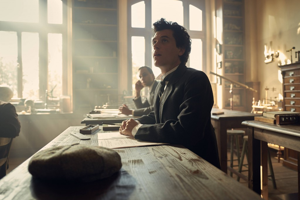 PRAGUE - Johnny Flynn as young Albert Einstein with Shannon Tarbet as Marie Winteler in National Geographic's Genius. (Photo Credit: National Geographic/Robert Viglasky)