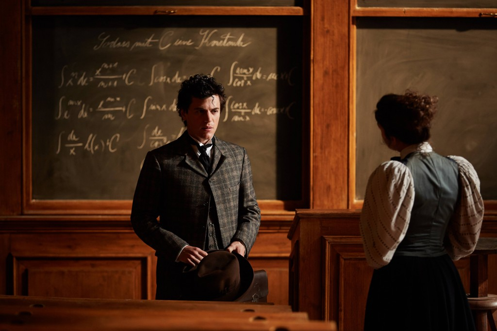 PRAGUE - Johnny Flynn as young Albert Einstein with Samantha Colley as Mileva Maric in National Geographic's Genius. (Photo Credit: National Geographic/Robert Viglasky)