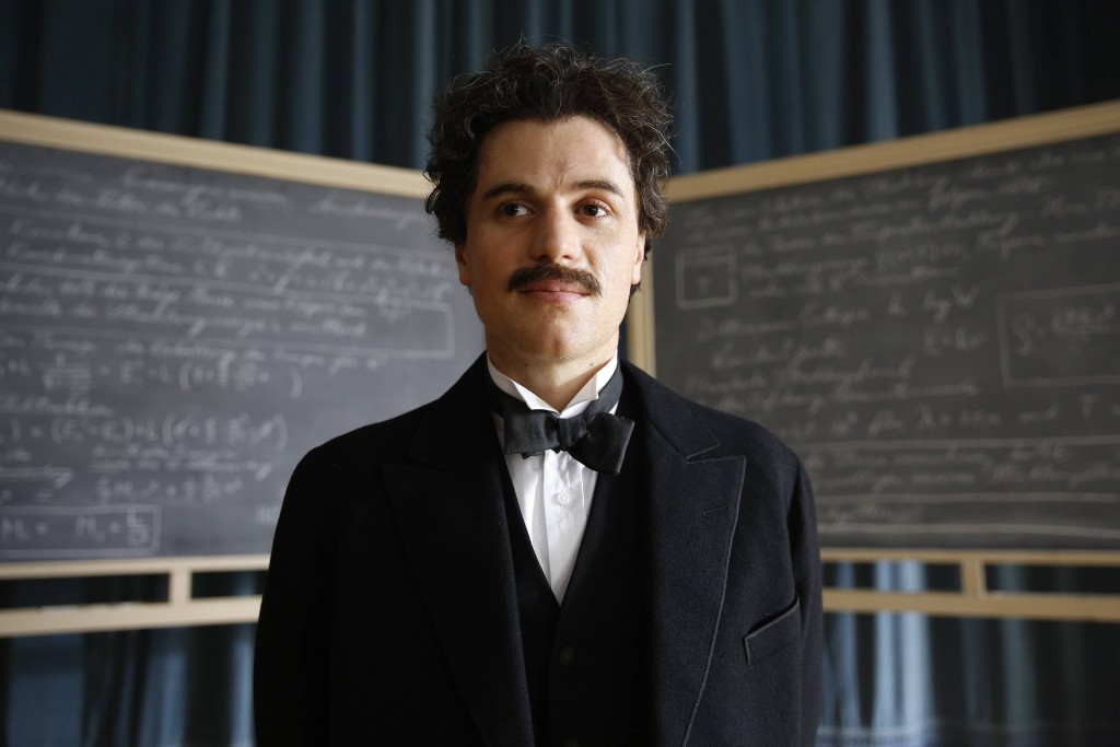 PRAGUE - Johnny Flynn plays young Albert Einstein in National Geographic's Genius. (Photo Credit: National Geographic/Dusan Martincek)